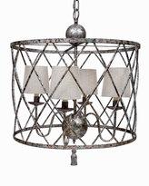 Horchow Open Weave 4-Light Chandelier