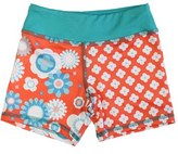 Girl's Chooze 'Splits' Mixed Print Shorts