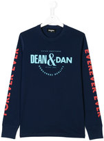 DSQUARED2 Dean & Dan print top