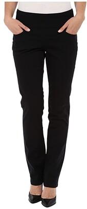 Jag Jeans Peri Pull-On Straight Leg Pants in Bay Twill