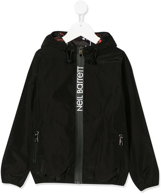 Neil Barrett Kids Branded Lightweight Jacket