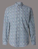 Autograph Pure Cotton Slim Fit Luxury Shirt