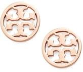Tory Burch Circle Logo Stud Earrings