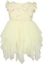 Popatu Floral Lace Tulle Dress
