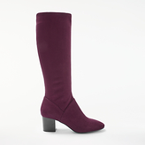 Boden Round Toe Stretch Knee High Boots