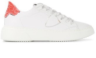 Philippe Model Paris Two-Tone Lace-Up Trainers