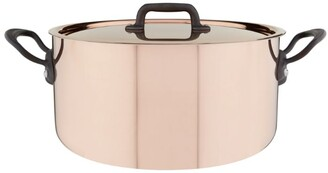 Mauviel Copper Saute Casserole Pan with Lid (24cm)