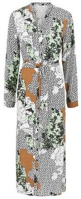 Pieces Carrie Midi Shirt Dress - XS
