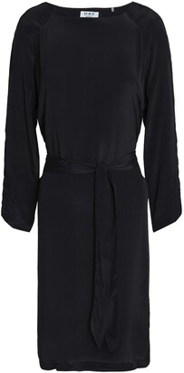 DAY Birger et Mikkelsen Belted Crepe De Chine Dress
