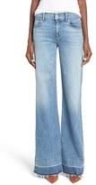 Hudson Women's Dani Wide Leg Jeans
