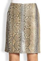 Reed Krakoff Python Pencil Skirt
