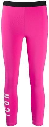 DSQUARED2 Icon print leggings