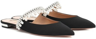 Aquazzura Exquisite embellished slippers