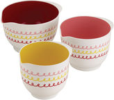 JCPenney CAKE BOSS Cake BossTM Melamine Countertop Accessories 3-pc. Melamine Mixing Bowl Set
