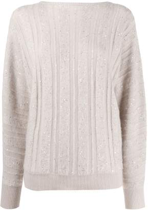 Fabiana Filippi loose-fit cashmere jumper