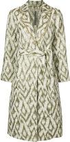 Raquel Allegra print coat - women - Cotton - 0