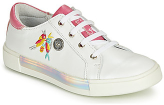 Catimini SYLPHE girls's Shoes (Trainers) in White