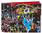 Christian Louboutin Clipsos Loubitag Leather Wallet