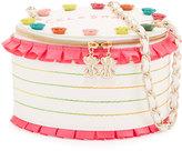 Betsey Johnson Kitsch Celebrate Cake Bag, Cream