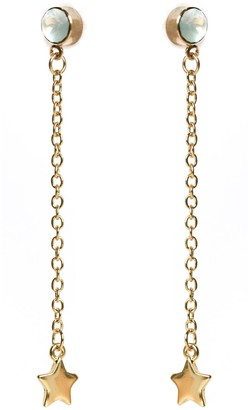Nadia Minkoff Skinny Star Earring - Gold