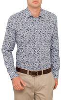 Sand Flower Print Shirt