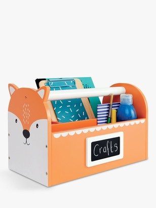 Great Little Trading Co Mr Fox Carry Caddy, Orange