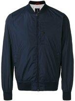 Fay zipped bomber jacket - men - Polyester/Cotton - XL