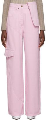 Jacquemus Pink Le Jean de Nimes Jeans