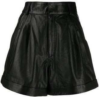 Manokhi flared shorts