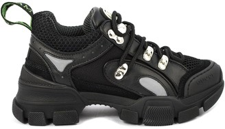 Gucci Black Flashtrek Sneaker