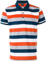 Paul & Shark horizontal stripe polo shirt - men - Cotton - XL