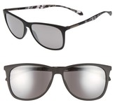 BOSS Men's 58Mm Sunglasses - Black Grey Havana