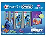 Crest Oral-B Pro-Health Junior Finding Dory Premium Special Manual Toothbrush and Toothpaste for Kids (for children and toddlers age 2+) (Pack of 12)