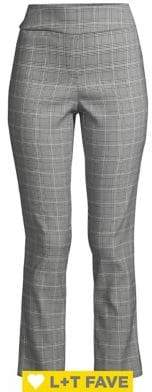 Isaac Mizrahi Imnyc Plaid Ankle Dress Pants