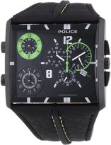 Police Men's Quartz Watch TRIPOD P13497JSB-02 with Leather Strap