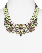 BaubleBar Azurine Bib Necklace, 17