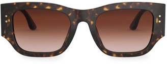 Tory Burch 52MM Rectangular Sunglasses