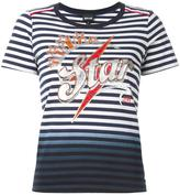 Just Cavalli striped T-shirt - women - Cotton - S
