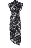 Michael Kors Silk Handkerchief Dress