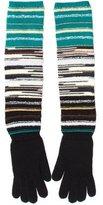M Missoni Striped Wool Gloves w/ Tags