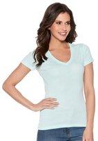 M&Co Plain v-neck t-shirt