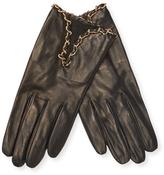 Portolano Leather Chain Gloves