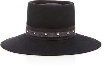 Gigi Burris Millinery Maureen Wide-Brim Felt Hat