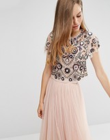 Needle & Thread Enchanted Lace Top