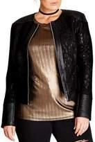 City Chic Plus Lace Jacket