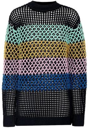 Tibi Crochet sweater