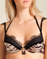 Roberto Cavalli Tigre Push-Up Bra