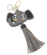 Kate Landry Tasseled Elephant Key Fob