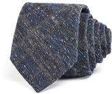 Theory Donegal Textured Check Classic Tie