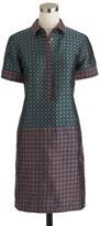 J.Crew Collection dual foulard shirtdress
